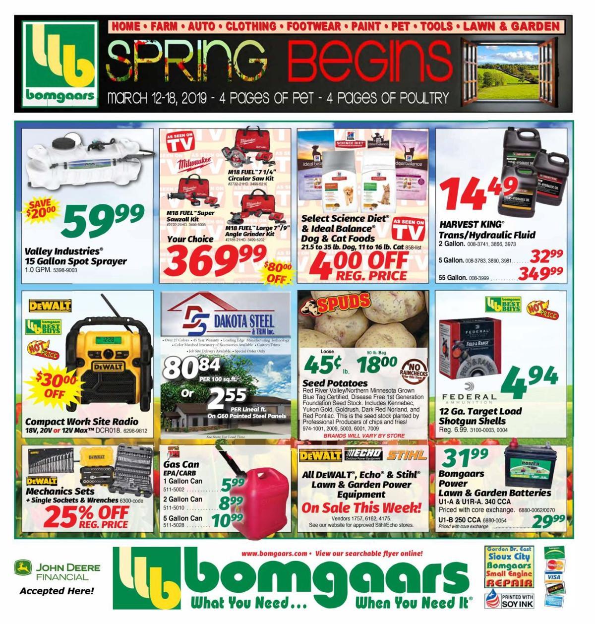 Bomgaars - 031219