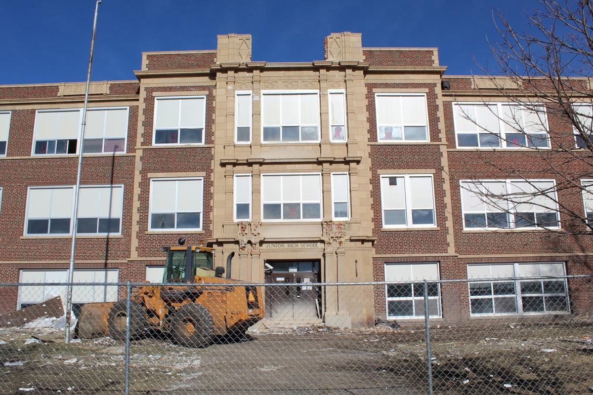 Columbus Middle School demolition