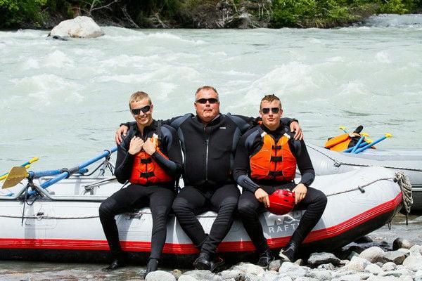 Mike Gutzmer rafting