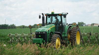 Tractor near David City