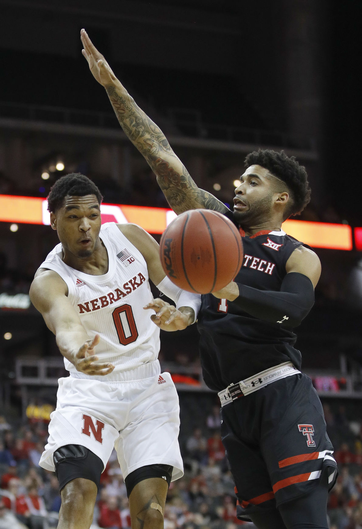 Texas Tech Nebraska Basketball