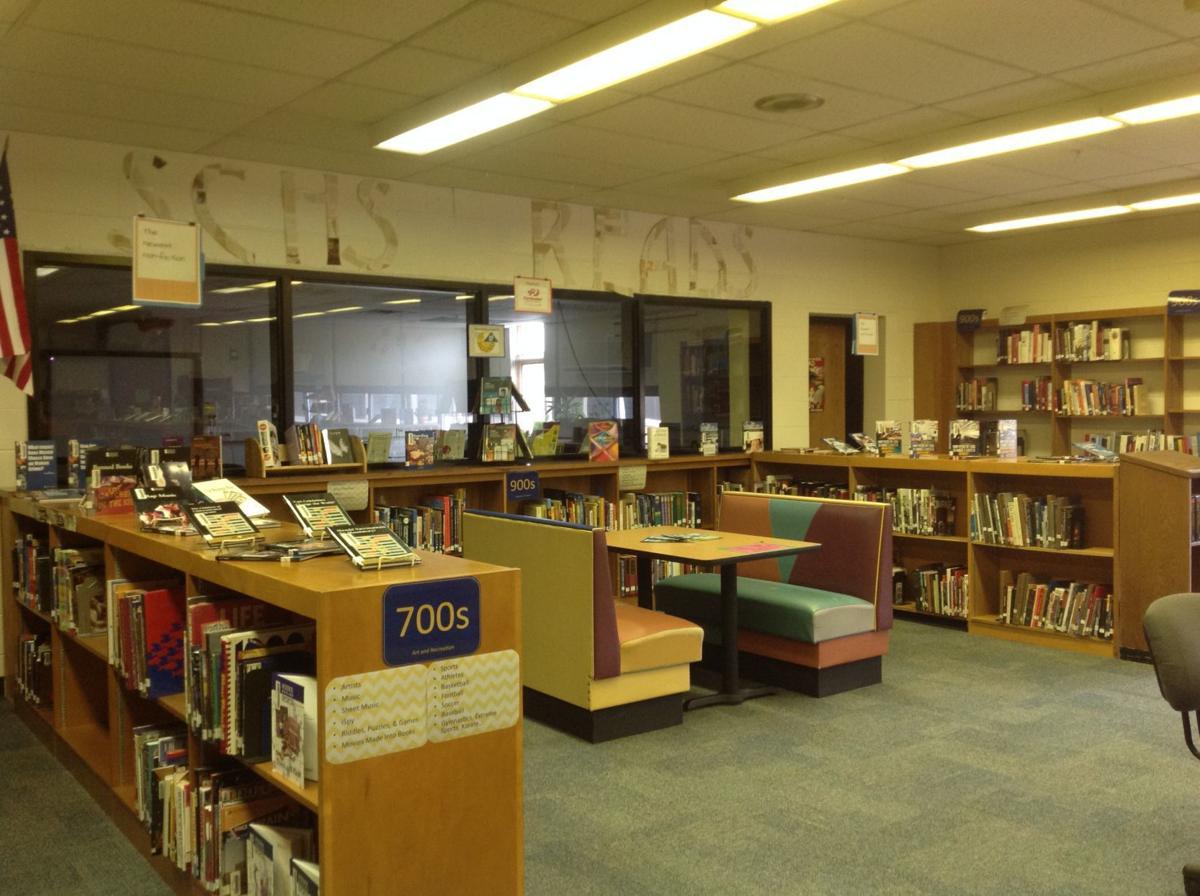 Schuyler High library