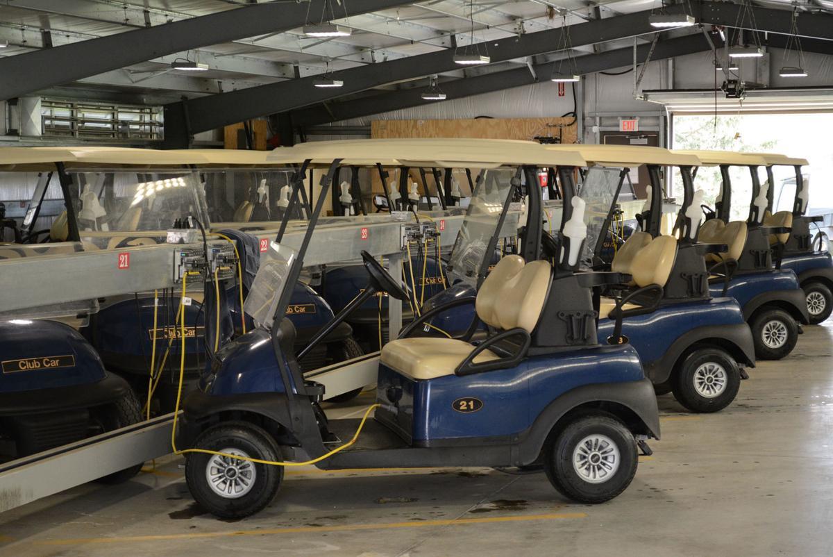 Quail Run Golf Shed