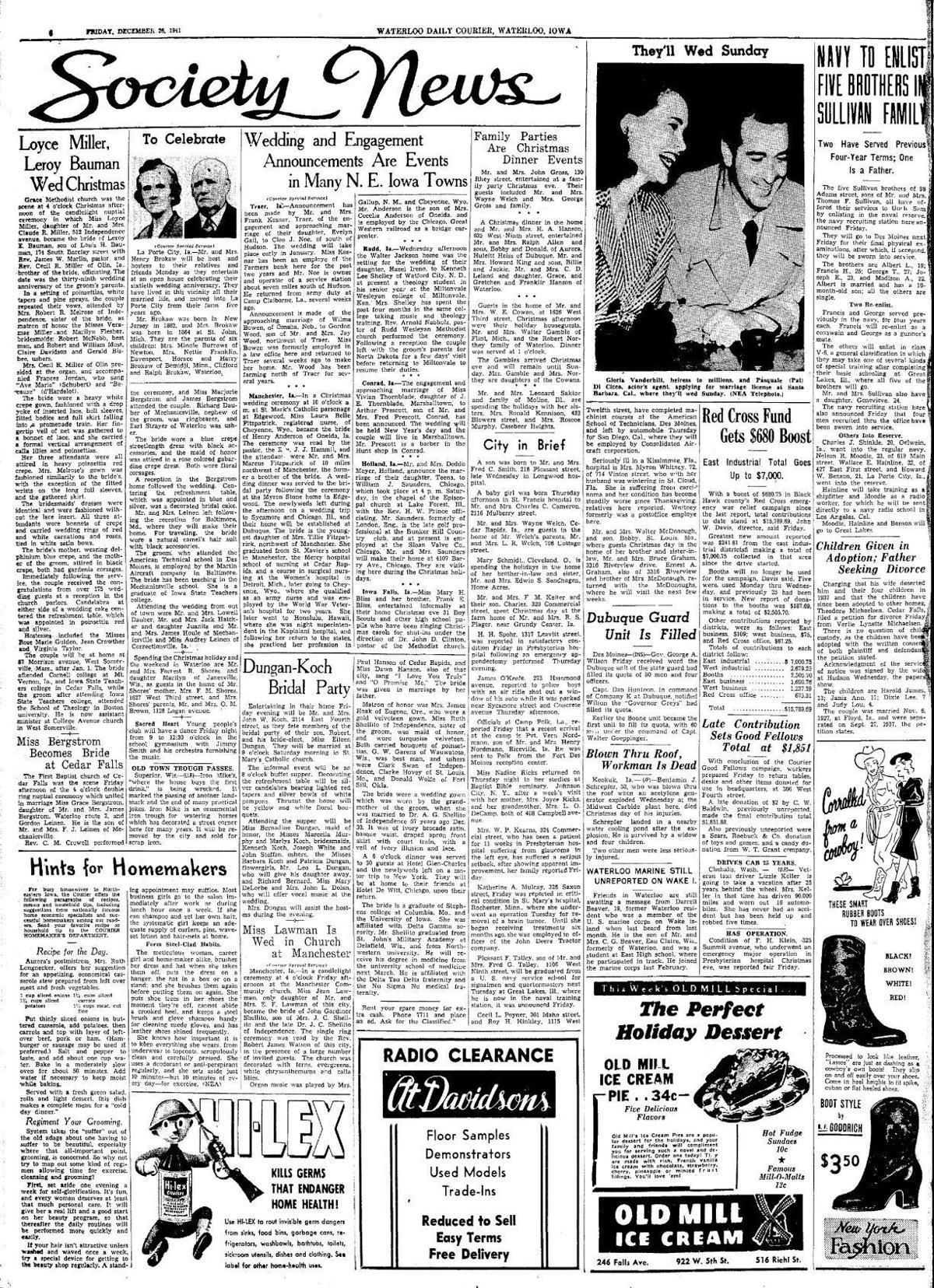 Courier Dec. 21, 1941