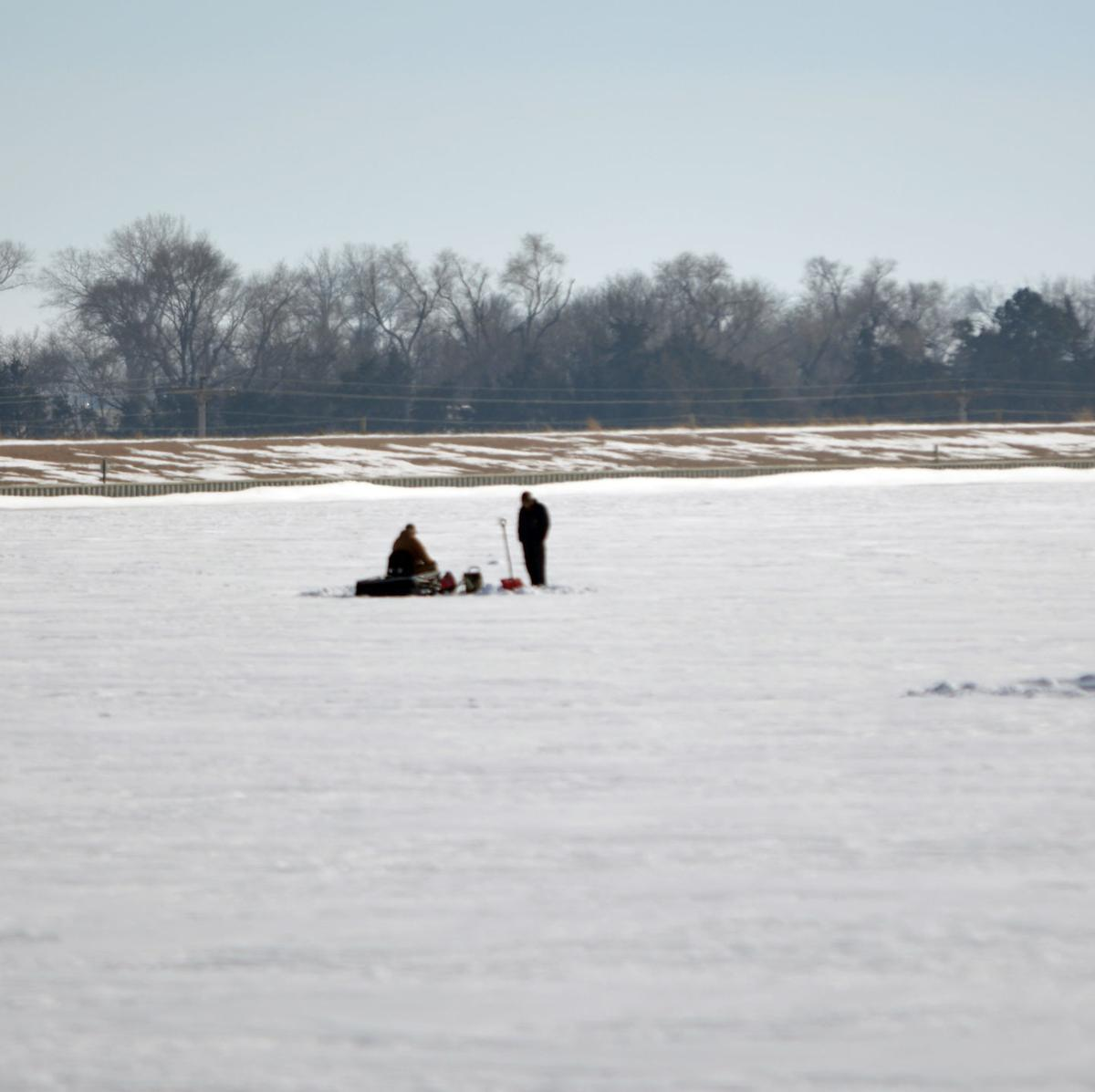 Ice fishers