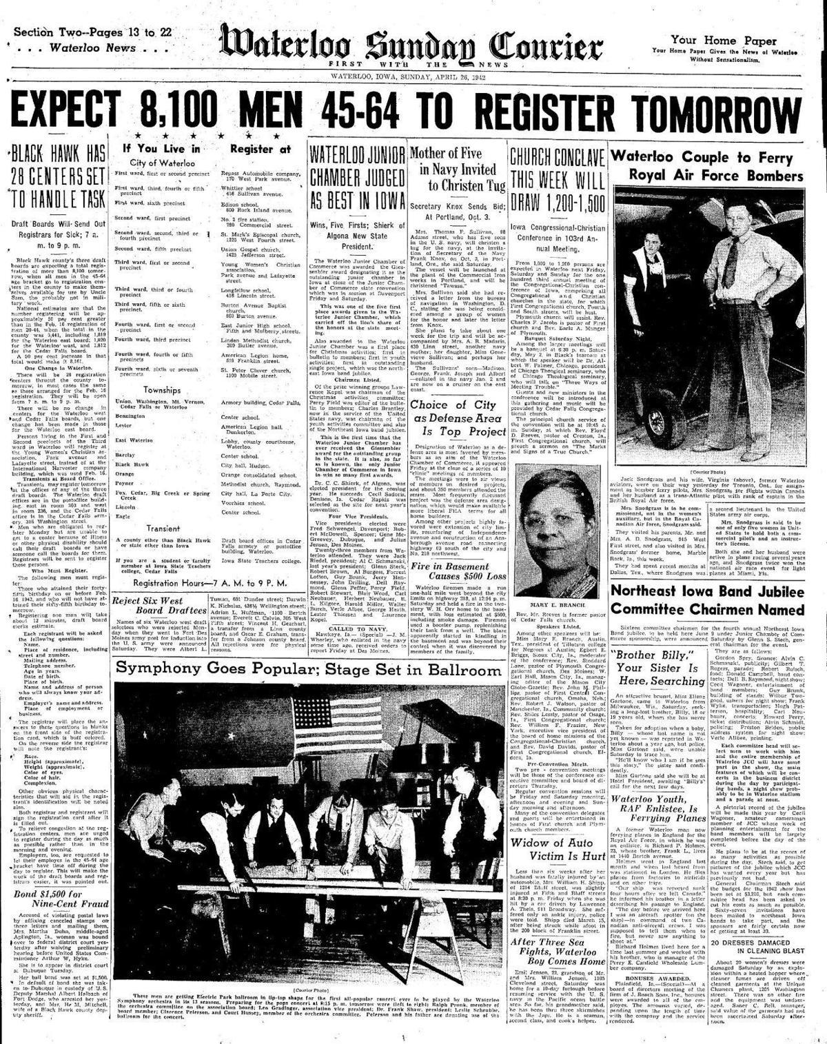 Courier April 26, 1942