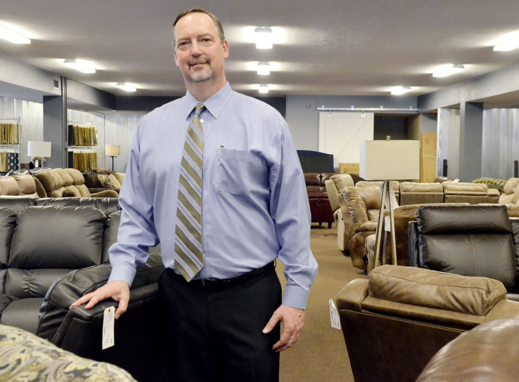 Elegant Owner Tim Deets Opened His New Downtown Furniture Store At 2422 13th St.  Last Week Following A Six Month Remodeling Project To The Nearly  25,000 Square Foot ...