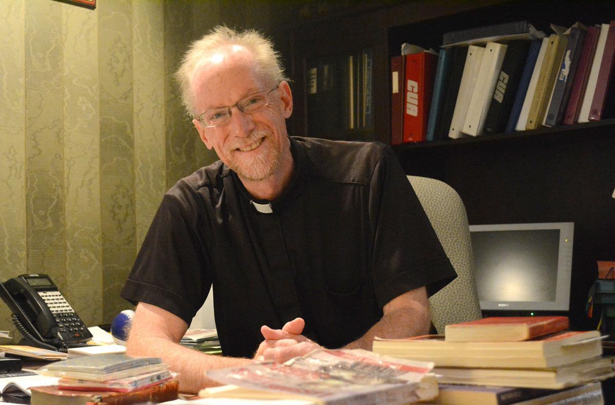 Father Ross Burkhalter