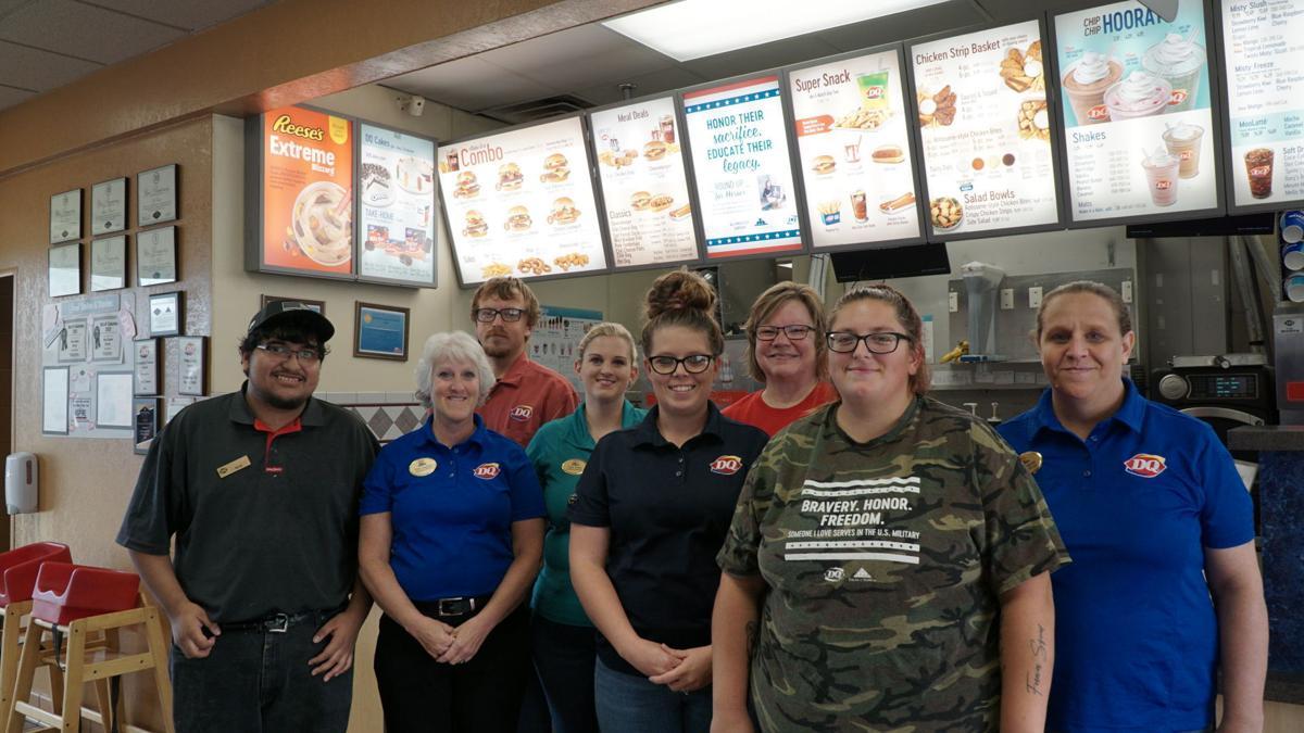 Columbus Dairy Queen staff members