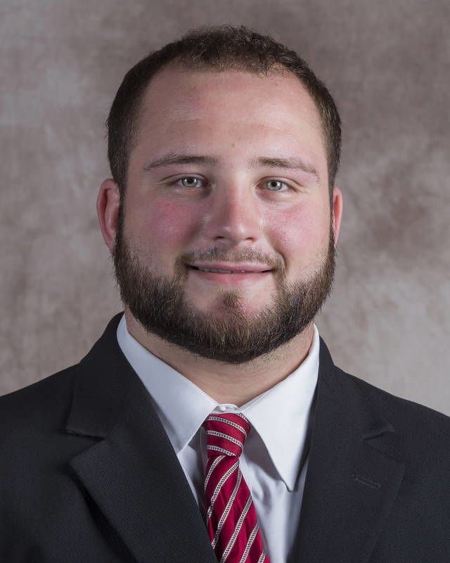 Tanner Farmer, NU offensive lineman