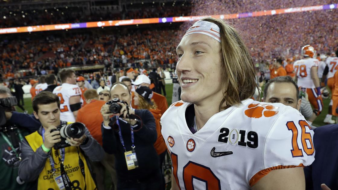 Video: Brett McMurphy: No one surprised by Trevor Lawrence ...
