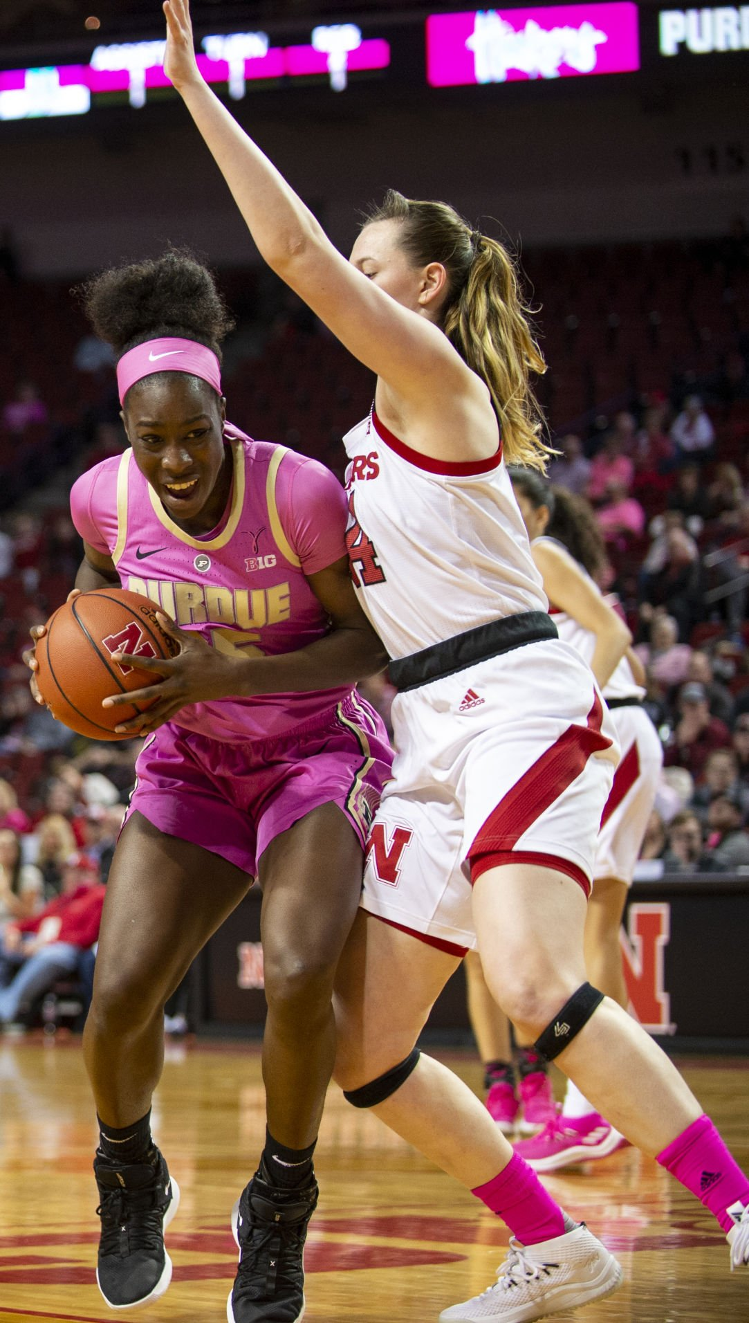 Nebraska Cornhuskers vs. Purdue Boilermakers Womens 2.10