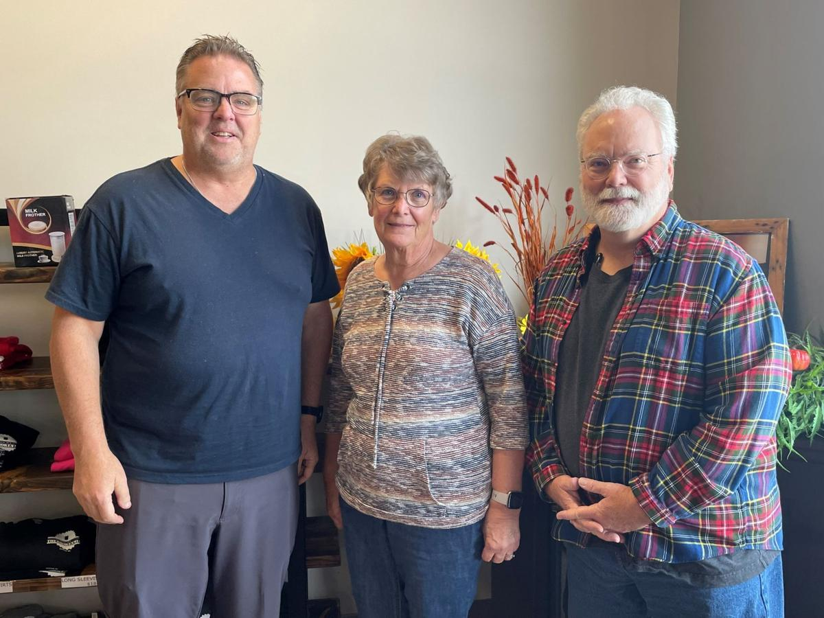 Jim Thelen, Lois Kramer, Randy Longacre