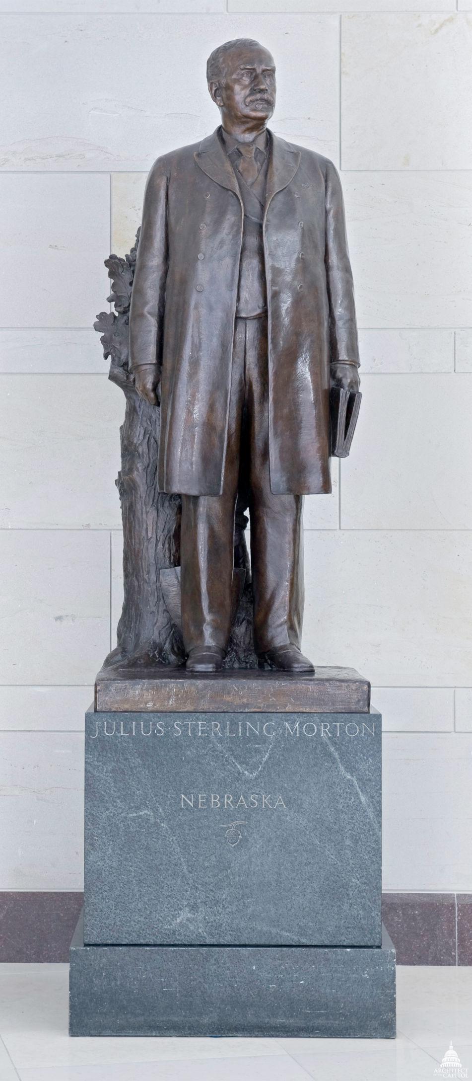 Julius Sterling Morton statue