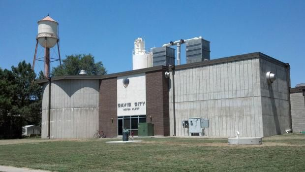 David City water treatment plant