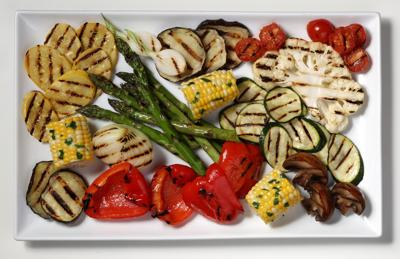 FOOD GRILL-VEGETABLES-HOWTO 1 TB