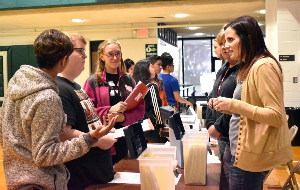 Colfax County students explore their futures | Schuyler ... |Columbus Connect The Dots
