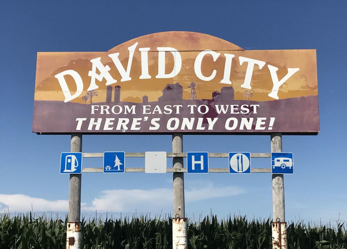 David City Sign