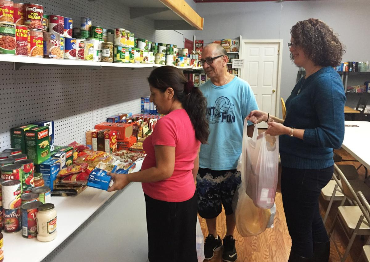 Food Pantry Open House 1