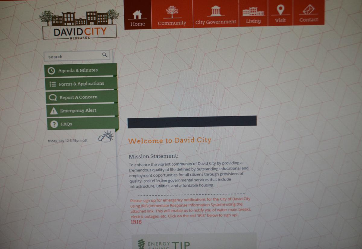 David City website