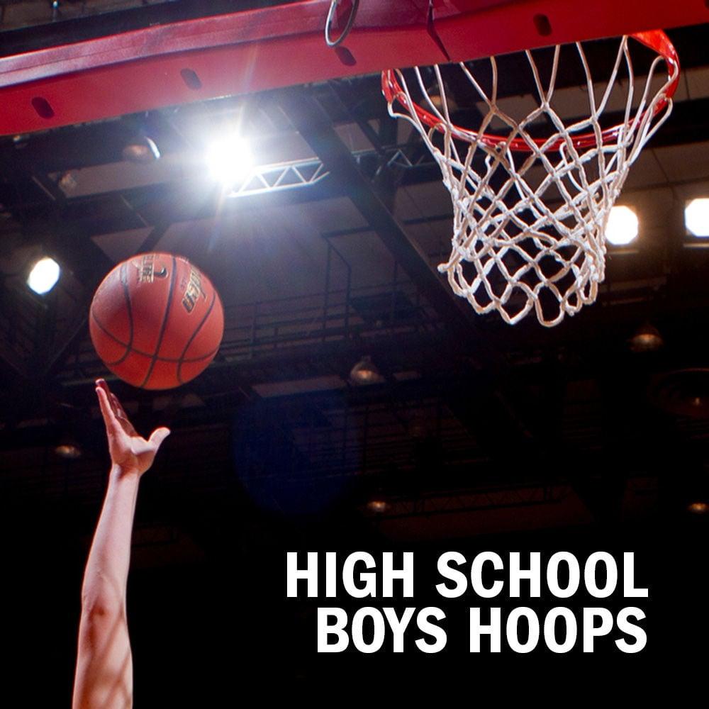 High school boys basketball logo 2014