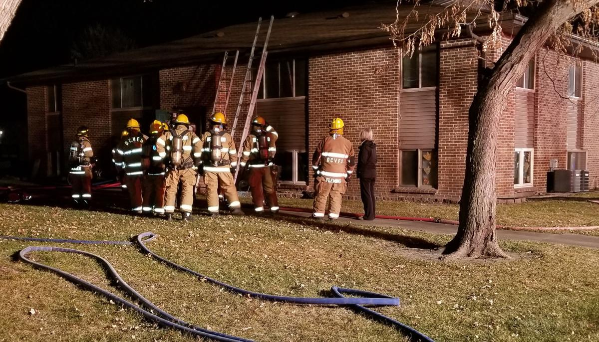 Apartment fire, Sixth and Iowa streets (copy)
