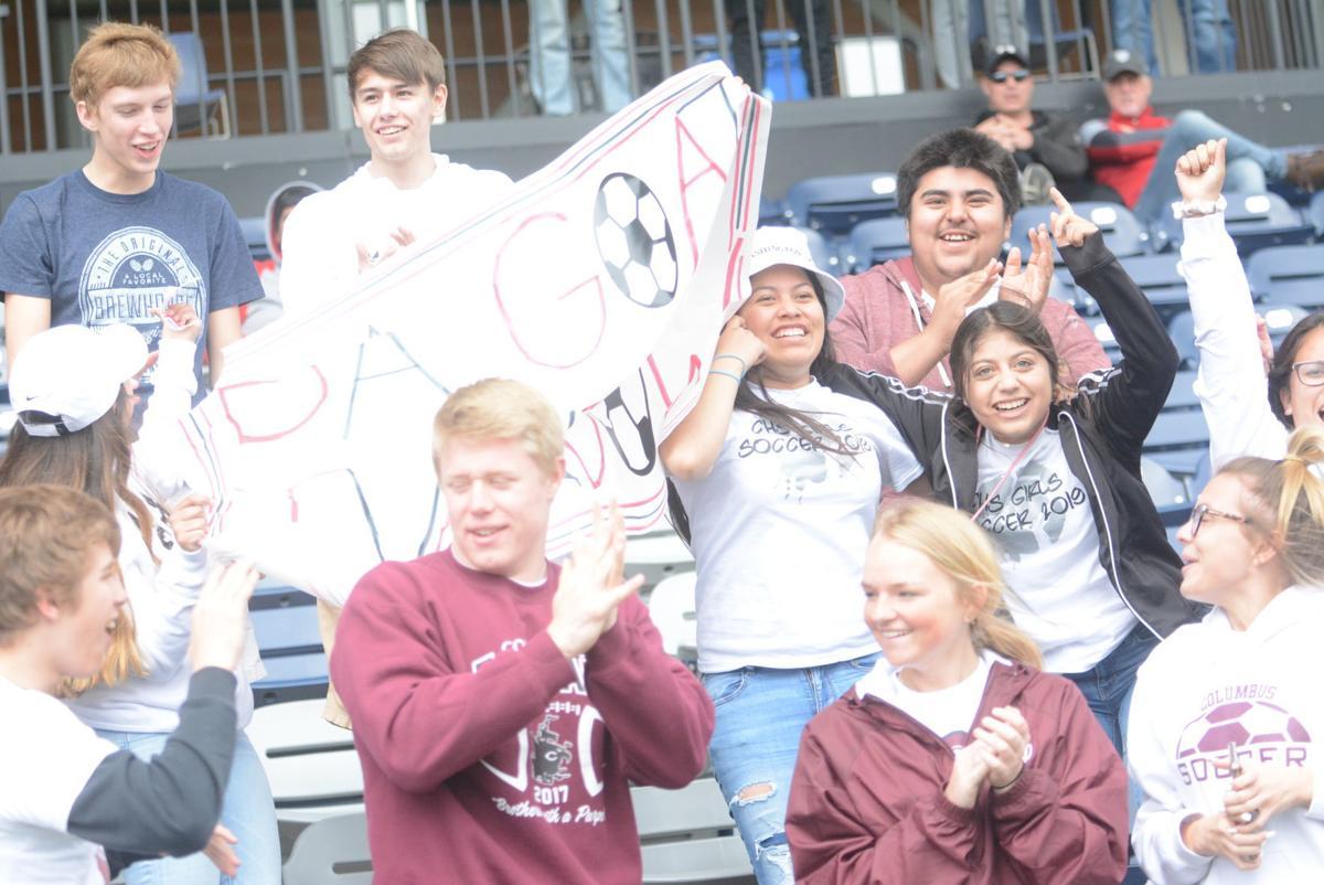 Columbus High Students