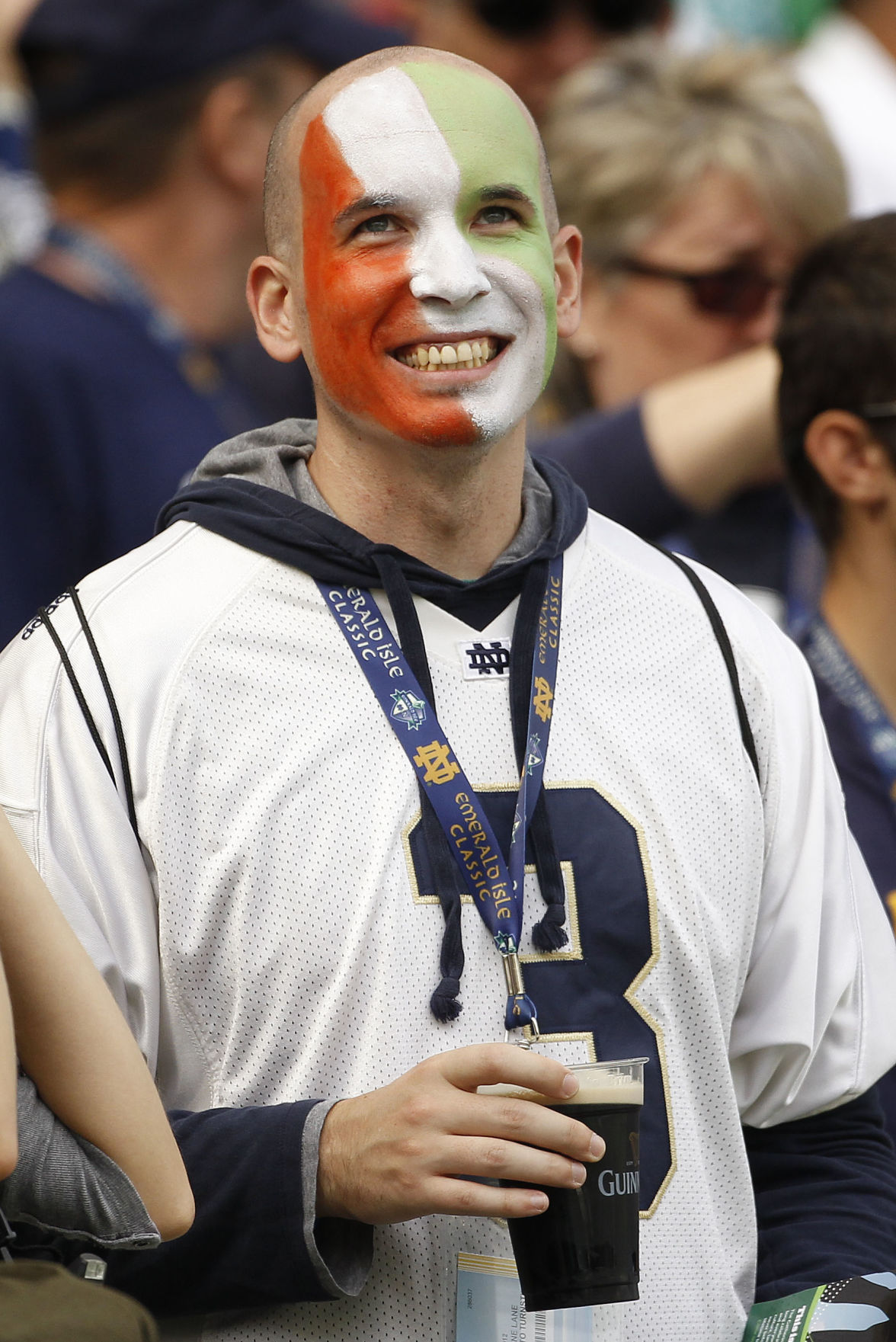 Ireland Navy Notre Dame Football