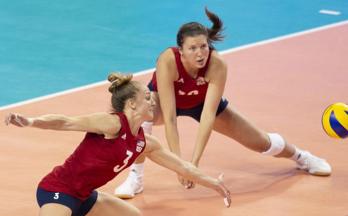 U.S. vs. Germany in FIVB Volleyball Nations League, 6.5