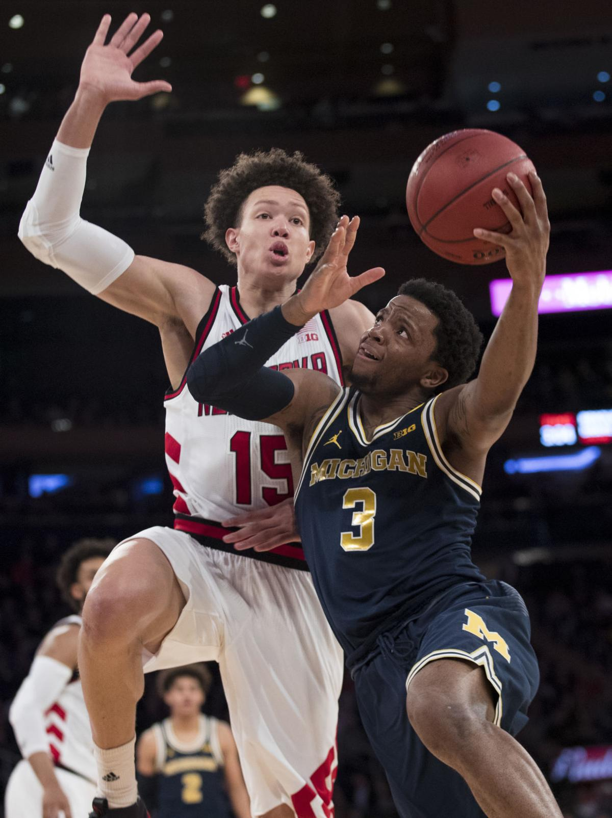 Michigan Nebraska Basketball