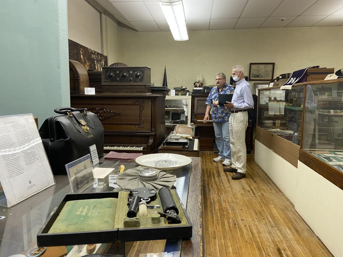 Platte County Museum tour