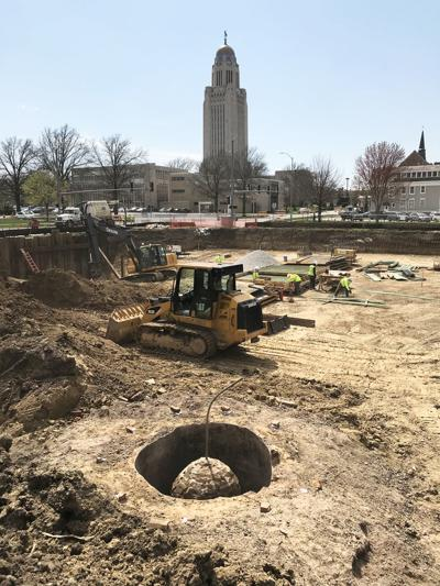Gin bottles in the cistern — History unearthed at Capitol-area construction site