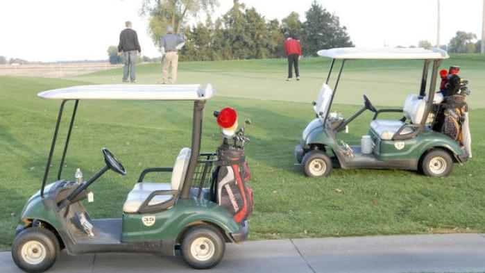 Golf Board Prefers Electric Carts
