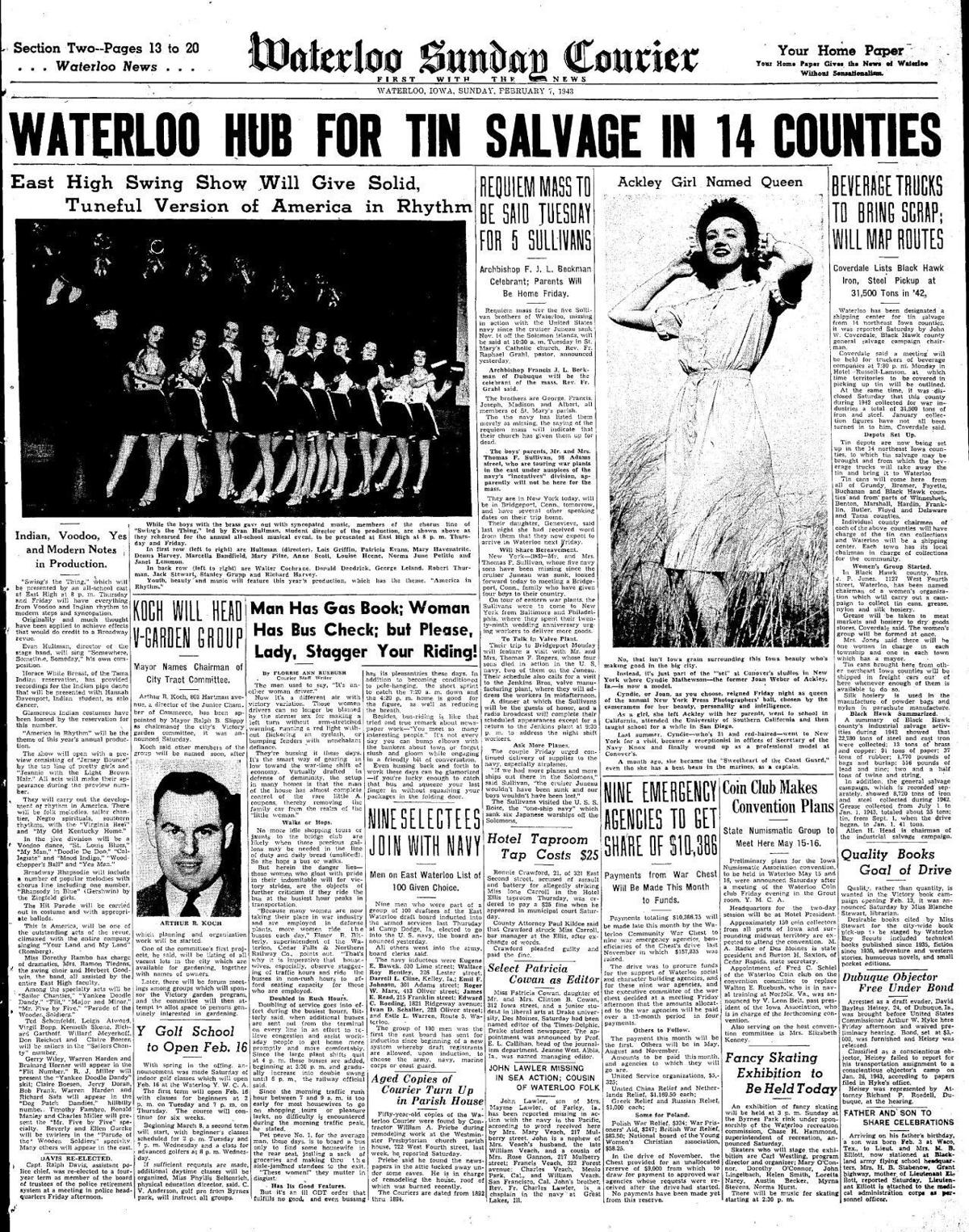 Courier Feb. 7, 1943