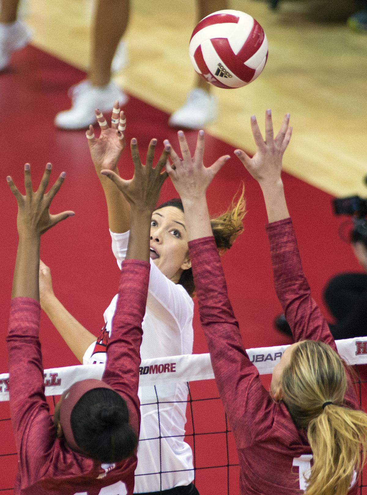 Nebraska vs. Indiana volleyball, 10/10