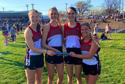 David City Scouts Girls Track