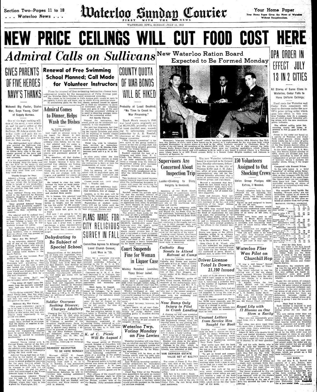 Courier July 11, 1943