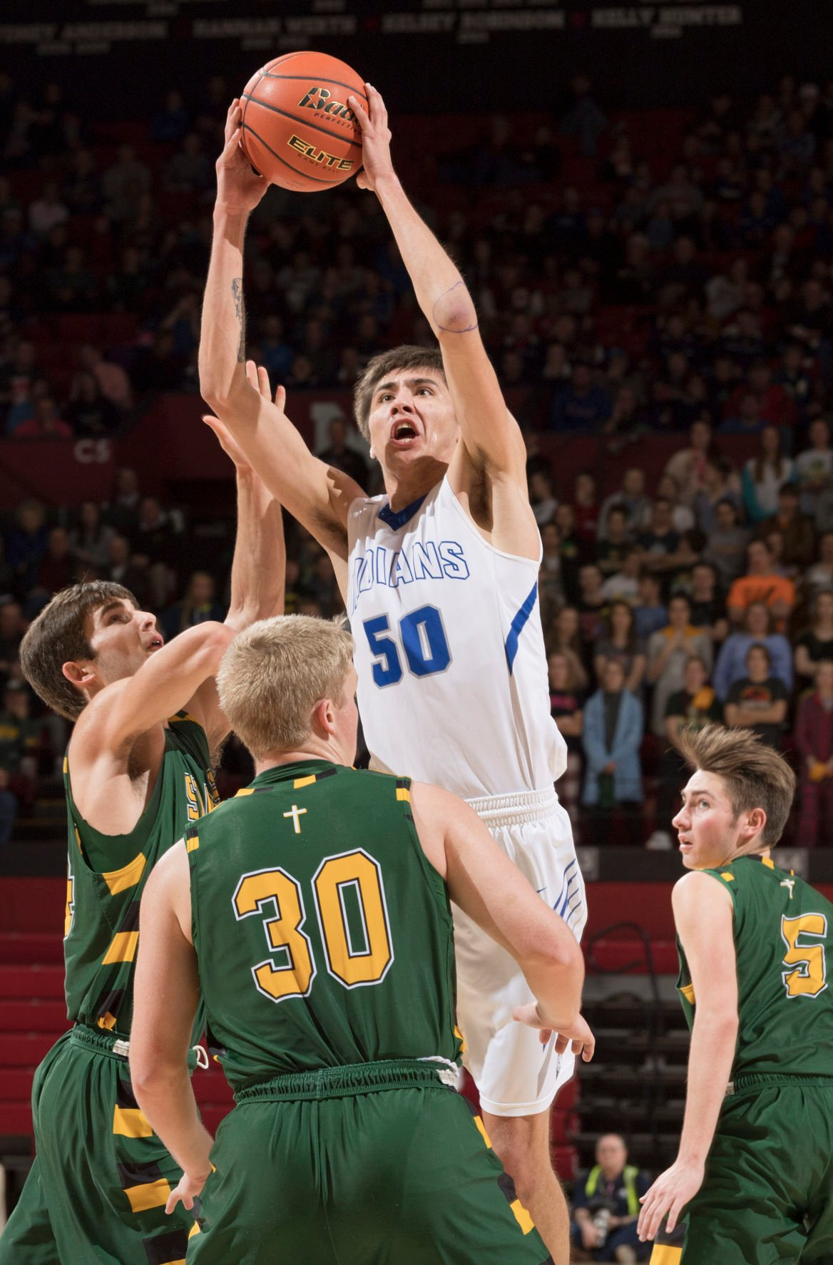 C-1 state, Kearney Catholic vs. Winnebago, 3/9