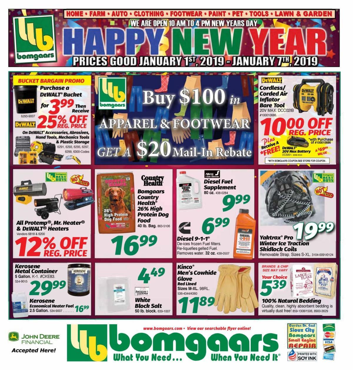 Bomgaars - 010819