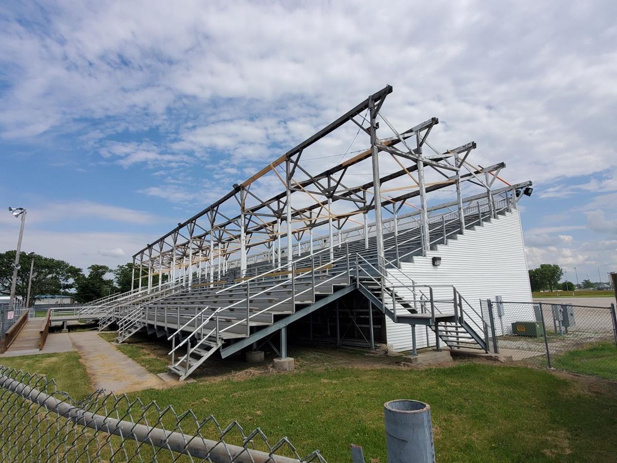 Old grandstand