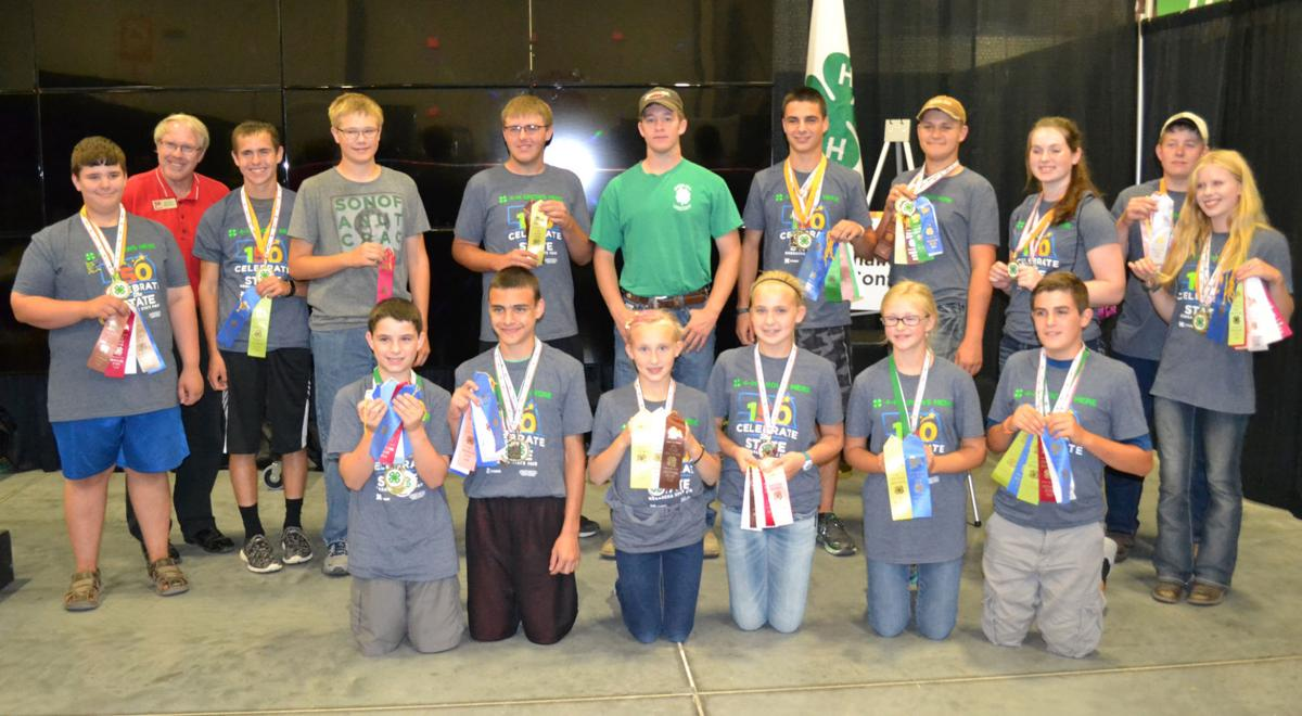 Butler County 4-H State Fair contestants