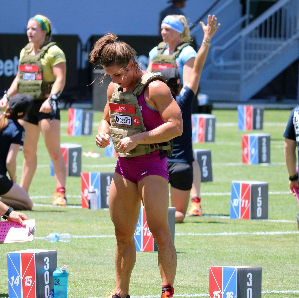 Tovar Earns Personal Best Finish At Grueling Crossfit