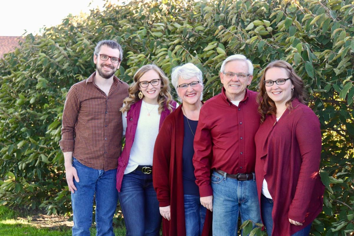 Sandi Seckel and her family