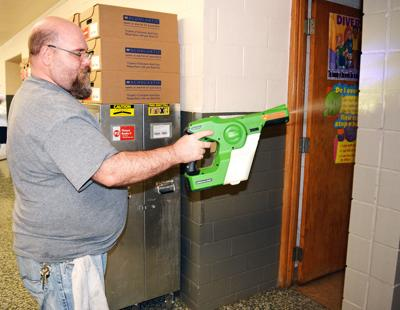 District 118 schools receive a 'deep cleaning'