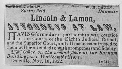 Divorce cases kept Lincoln busy