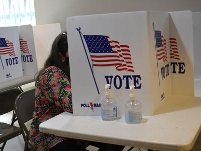 Casting an early vote