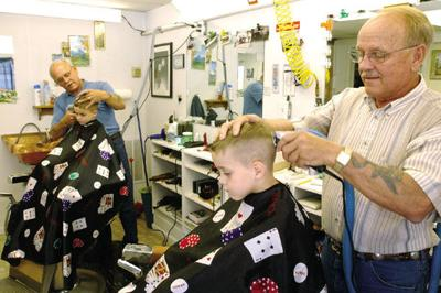 Barber twins return for 'retirement' | Local News