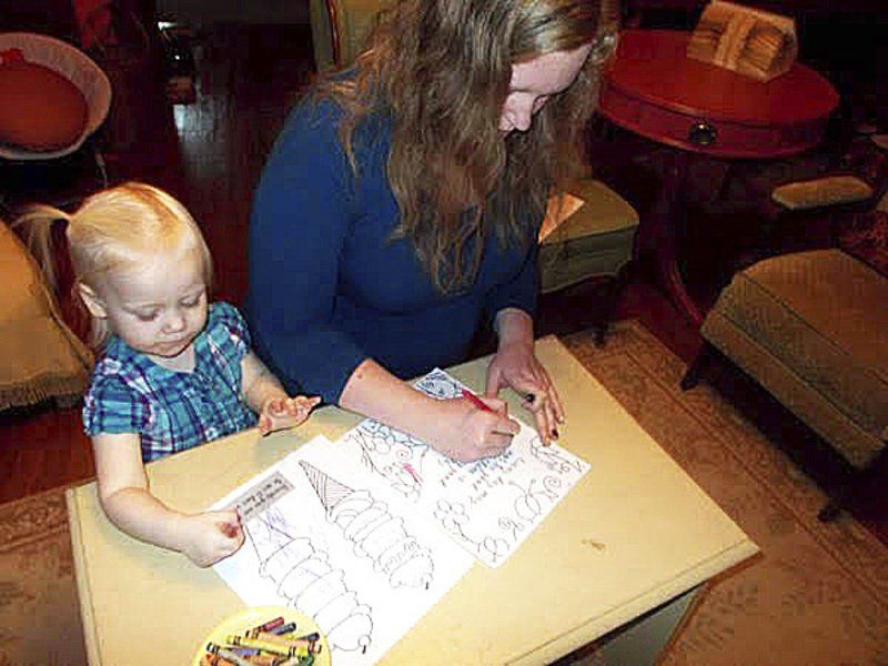 Woman creates coloring book to help ease divorce