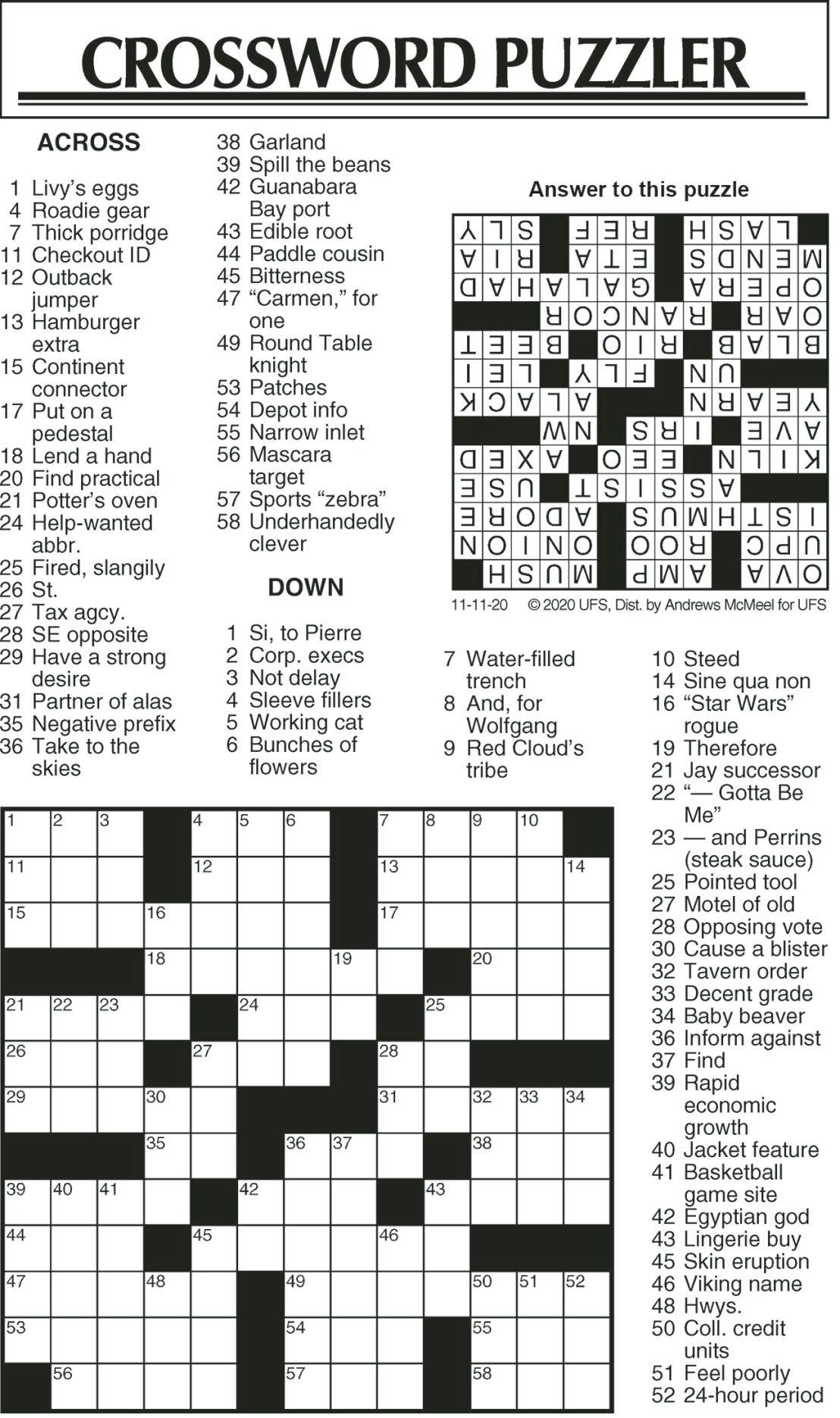 Crossword Puzzle JPG 111120
