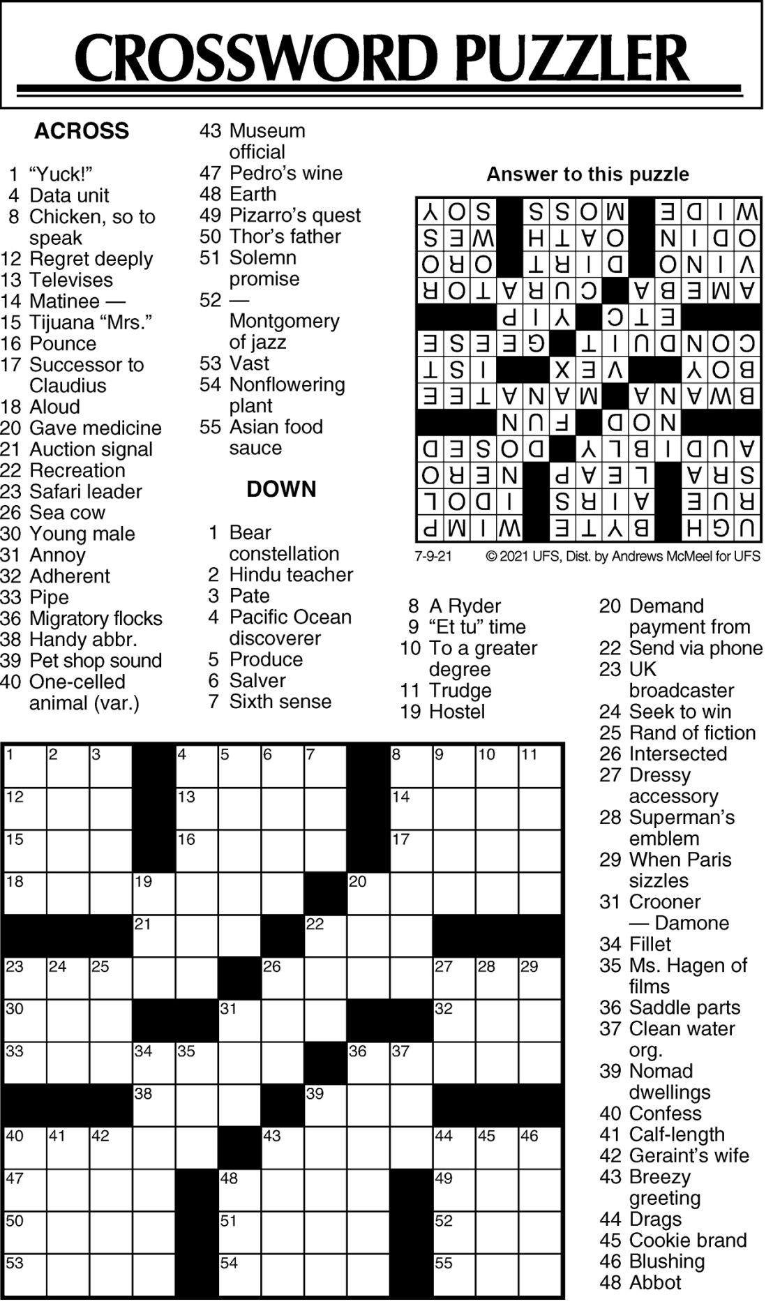 Puzzle 070921